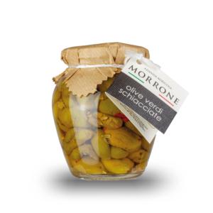 Azienda Agricola Morrone - Olive verdi schiacciate