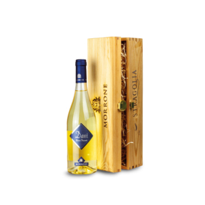 Cofanetto in legno con Vino Stragolia Davì IGP - Idea regalo
