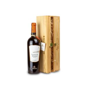 Cofanetto in legno con Pianoro del Mordillo IGP - Idea regalo