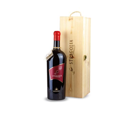 Vino Stragolia Rosso IGP - bottiglia Magnum 1,5 litri in cofanetto di legno