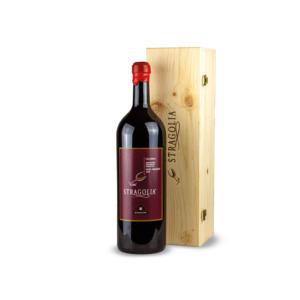 Vino Stragolia Rosso IGP - bottiglia Magnum 3 litri in cofanetto di legno