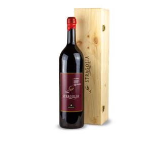 Vino Stragolia Rosso IGP - bottiglia Magnum 5 litri in cofanetto di legno