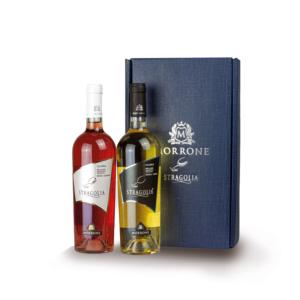 Bauletto blu Stragolia Rosato 2019 - Stragolia Bianco 2019